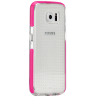 Case Mate Tough Air שקוף/ורוד לגלקסי 6